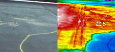 commercial roof non-destructive testing